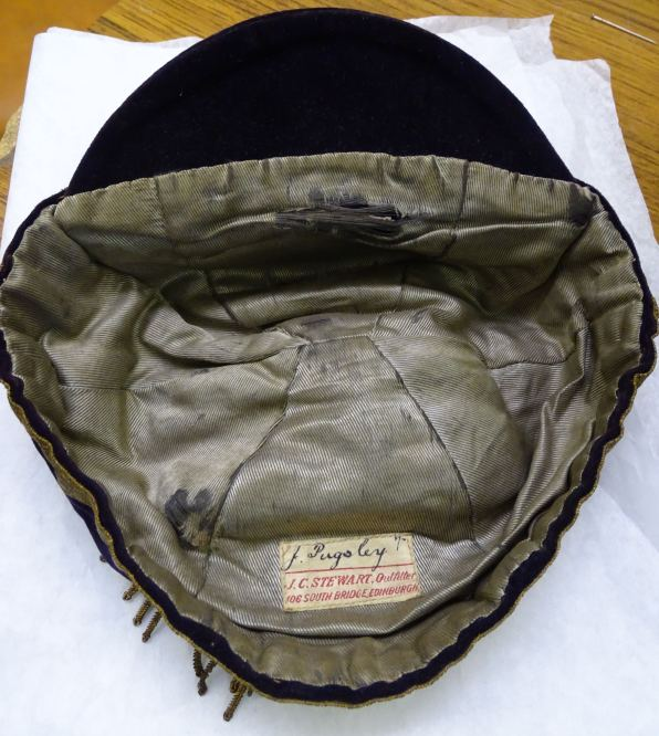 1909 Wales Trial Cap - Inside (CRM236)