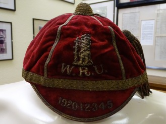 1920-25 Warwickshire County Rugby Cap (CRM177)