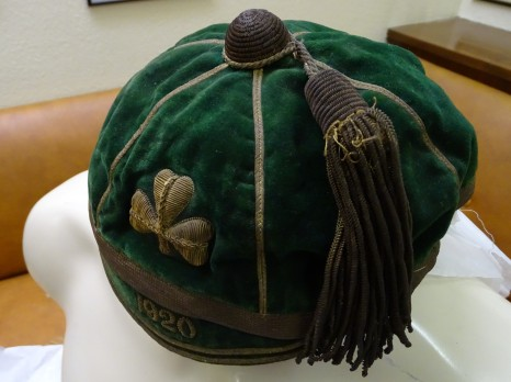 1920 ireland Rugby Cap - Side(CRM17)