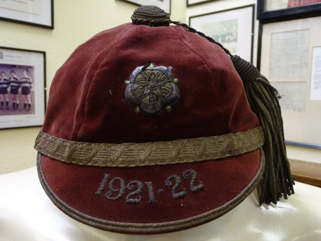1921-22 Yorkshire County Rugby Cap(CRM38)
