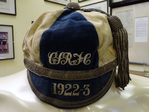 1922-23 Cardiff Schools Rugby Cap (CRM218)