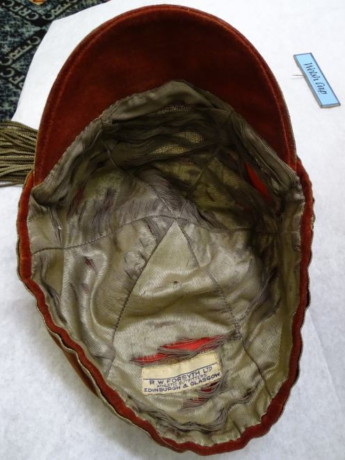1924-25 Wales Rugby Cap - Inside (CRM157)