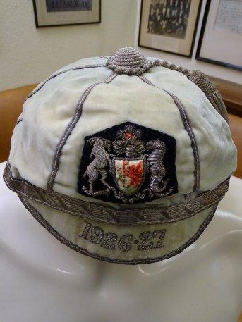 1926-1927 Cardiff Cap (CRM338)