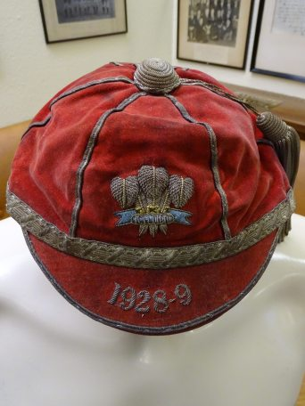 1928-1929 Wales Rugby Cap (CRM339)