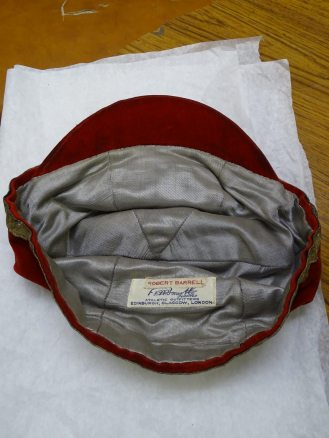 1928-1929 Wales Rugby Cap - Inside (CRM339)