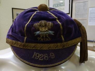 1928-1929 Wales Rugby Trial Cap(CRM341)