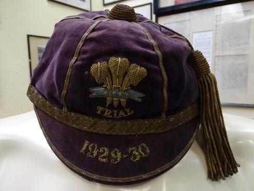 1929-30 Wales Rugby Trial Cap (CRM226)