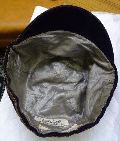 1929-30 Wales Rugby Trial Cap - Inside (CRM226)