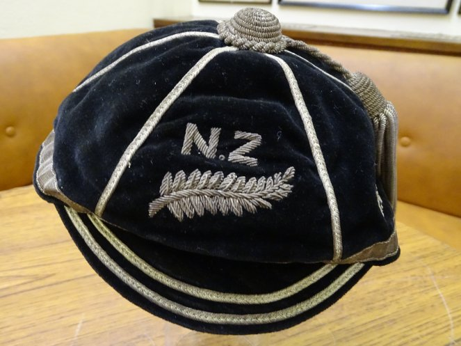 1934-1935 New Zealand Rugby Cap (CRM545)