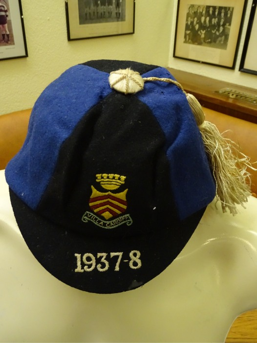 1937-38 Cadiff 2nds Cap(CRM213)