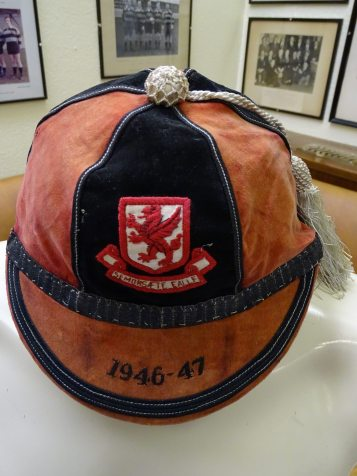 1946-1947 Somerset County Rugby Cap (CRM7)