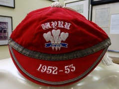 1952-53 Wales Youth Rugby cap(CRM56)