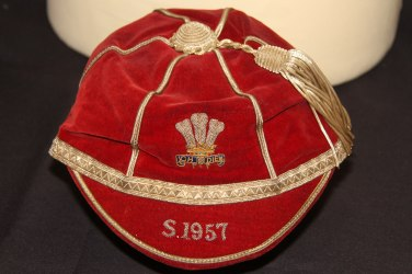 1957 Wales Rugby Cap (CRM966)