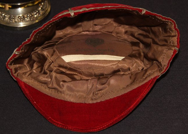 1957 Wales Rugby Cap - Inside (CRM966)