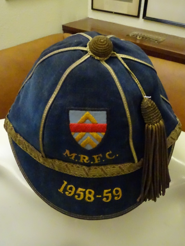 1958-59 Monmouthshire Rugby Cap (CRM171)