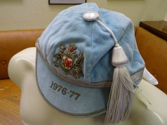 1976-1977 Cardiff 1st XV Cap- Side (CRM318)