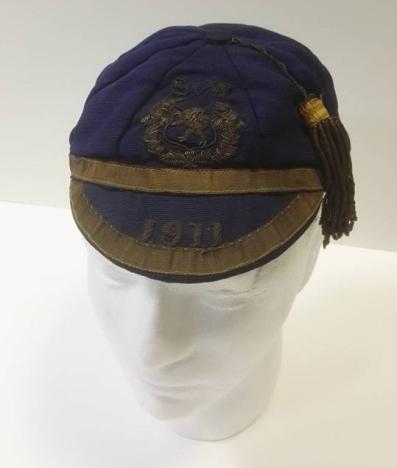 1911 scotland football cap v wales