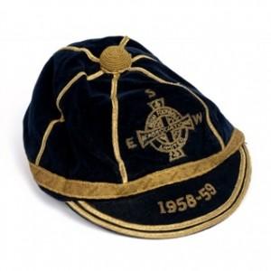1958-9 northern ireland football cap