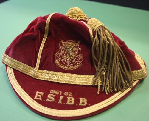 1961-2 wales football cap - jack-kelsey
