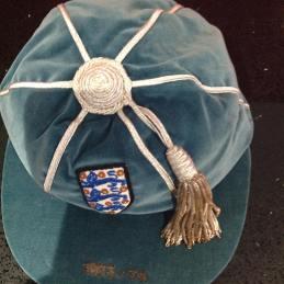 1973 england football cap - colin bell - austria