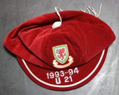 1993-4 wales-under-21 football cap