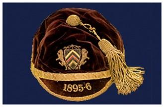 1895-6 Glamorgan Cap