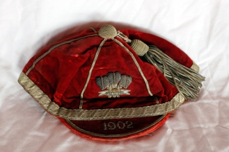 1902 Wales cap Will Joseph of Swansea RFC & Wales
