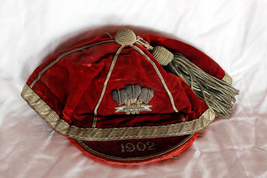 1902 Wales cap Will Joseph of Swansea RFC & Wales
