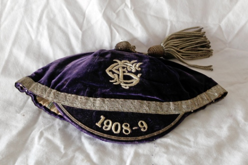 1908-9 Swansea cap Ivor Morgan of Swansea RFC & Wales